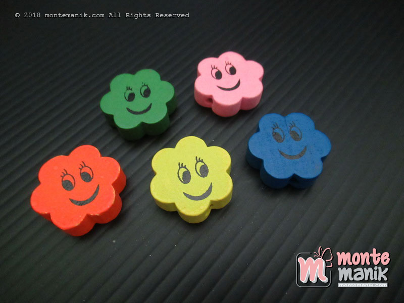 Manik Kayu Cute Smiley (MKU-030)