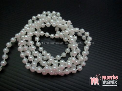 Mutiara Renteng 5 mm Broken White (MTG-04)