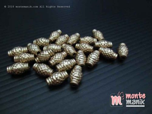 Parel Nanas Gold 3 mm x 12 mm (PAREL-012)