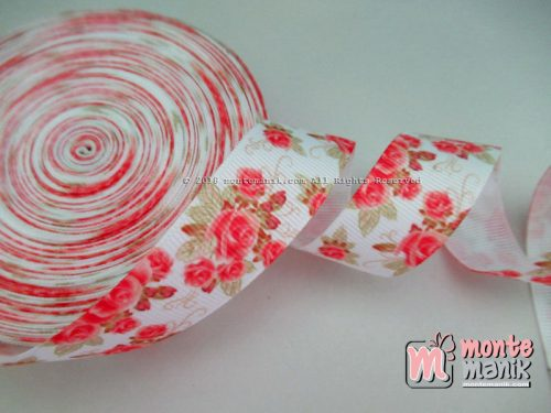 Pita Grosgrain Shabby Rose Orange 2,2 cm (PITA-222)