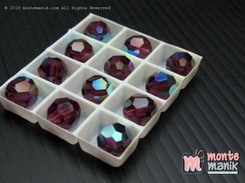 Kristal swarovsky Round Beads 8 mm Amethys AB 12-5000