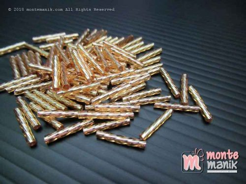 Manik Jepang Matsuno Bugle Twisted Gold 12 mm (IM 12 MM-SP-32)