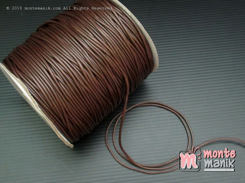 Tali Korea Coklat 2 mm (TLC-026)