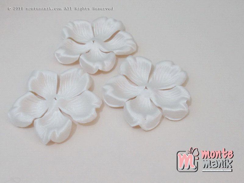 10 lembar Alpikasi Kelopak bunga Mangkok BW 6 cm (APB-057)