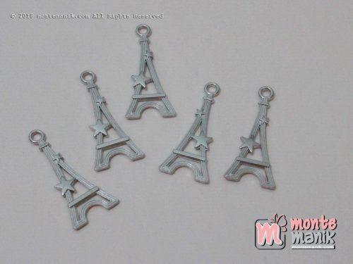 Charm eifel logam 2,5 cm nikel (ALA-02)