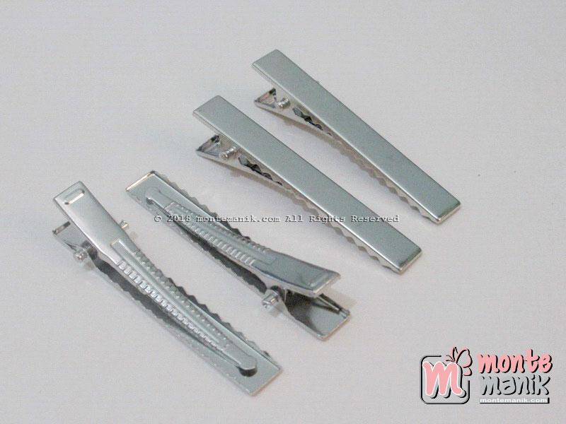 10 Pcs Jepit Aligator Nikel 5,5 cm (JPT-013)