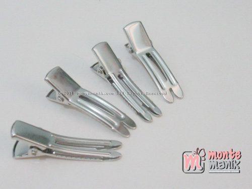5 Pcs Jepit Aligator Nikel Double Prong 3,5 cm (JPT-09)