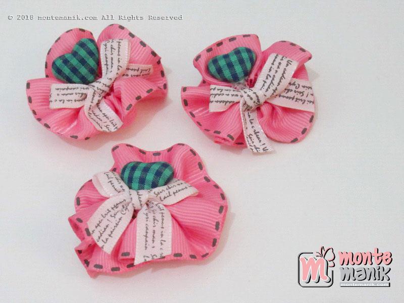 Per biji Aplikasi Pita grosgrain salem 5 cm (APP-017)