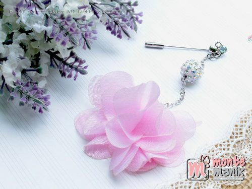 Frill Flowers Tuspin soft pink (PDL-094)