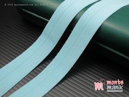1 Yards Pita Elastis Matte 1,5 cm Biru Muda (ASE-018)