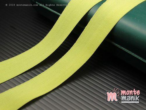 1 Yards Pita Elastis Matte 1,5 cm Hijau (ASE-012)
