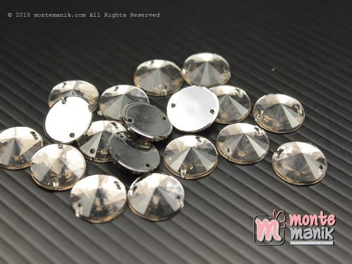 10 Pcs Rhinestone Rivoli Sew on 12 mm Abu (DMD-055)