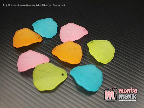 18 Pcs Manik Akrilik Dove Daun 2 x 2,5 cm (MPA-0155)