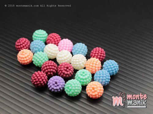 26 Pcs Manik Mutiara Berry Doff 10 mm (MPA-0146)