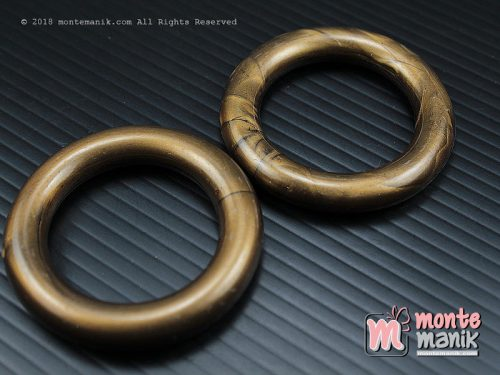 3 Pcs Manik Plastik Ring Bronze 4 cm (MPA-0104)