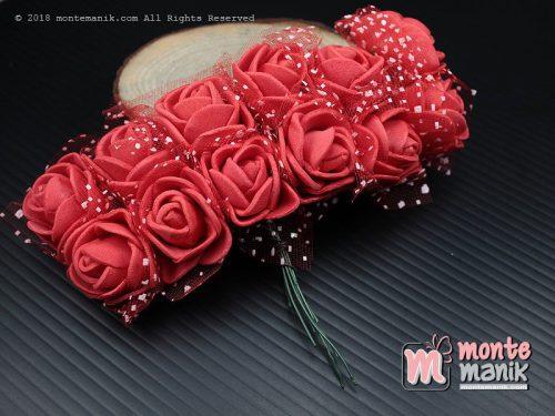 Aplikasi Bunga Spon Merah (APA-04)