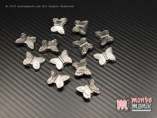 12 Pcs Spacer Kupu Plastik Nikel 12 mm (SPACER-040)