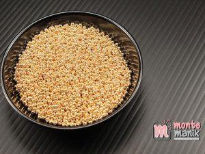 10 gram Manik Pasir Jepang Miyuki 11/o Emas SP-1052