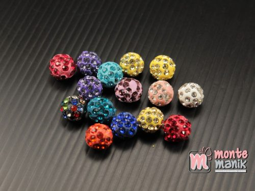 10 Butir Bola Diamond Fancy 8 mm (DMD-073)