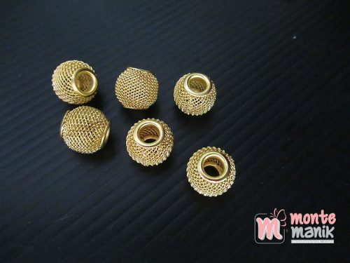 5 Buah Bola Jaring Emas 12 mm (SPACER-050)