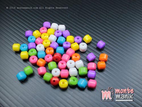 1 Pon Manik Bulat 4 Mata 10 mm (GS-06)