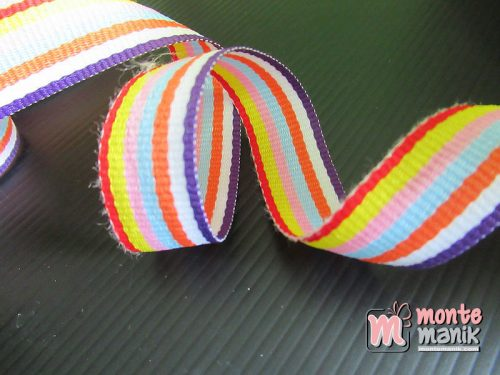 Pita Trim striped Warna Warni 2 cm (PITA-250)