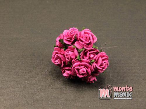 1 Ikat Bunga Mawar Kertas Fanta 1 cm (APA-34)
