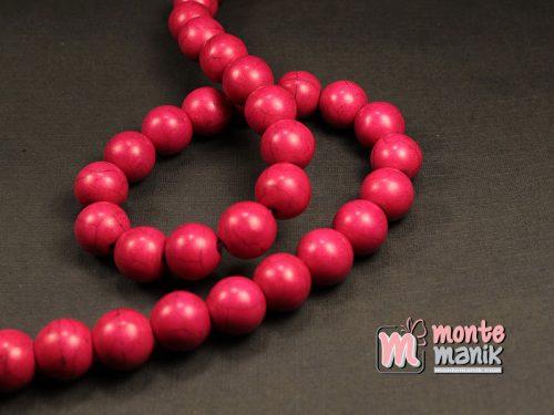 15 Butir Manik Batu Phyrus 12 mm Merah (BTA-020)