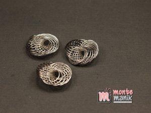 3 Buah Bunga Kawat Nikel 2 cm (SPACER-051)