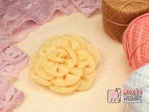 1 Buah Bunga Kain 5,5 cm Creame (APB-187)
