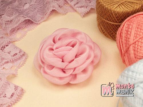 1 Buah Bunga Kain 5,5 cm Pink (APB-191)