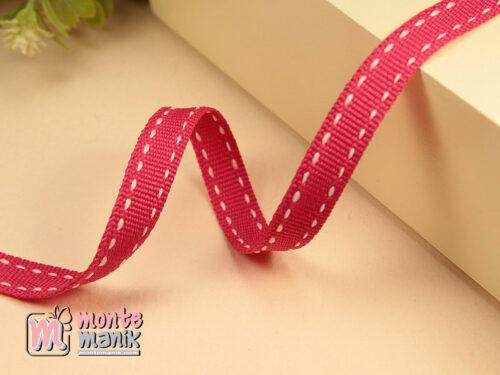 1 Yards Pita Strip 1 cm Hot Pink PTR09