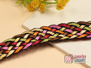 1 Yards Tali Anyaman Warna 2 cm (TLC36)